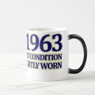 1963年、第50誕生日 モーフィングマグカップ