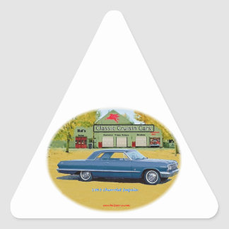 1963_Chevrolet_Impala 三角形シール