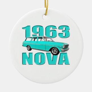 1963 chevy II新星ワゴンlongroof セラミックオーナメント