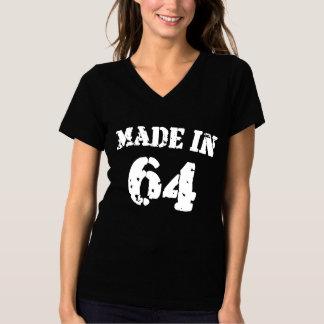 1964年に作られる Tシャツ