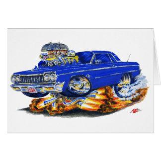 1964年のインパラの濃紺車 カード