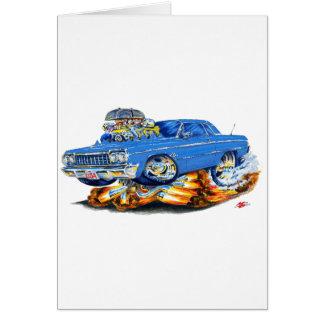 1964年のインパラの青車 カード