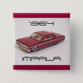 1964年のインパラ 5.1CM 正方形バッジ