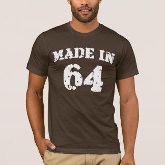 1964年のワイシャツで作られる Tシャツ