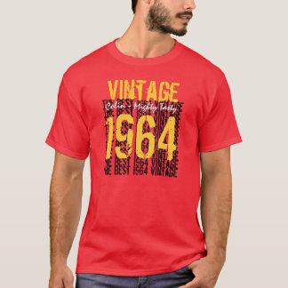 1964年のヴィンテージ年の第50名前をカスタムするの強大な風味がよい Tシャツ