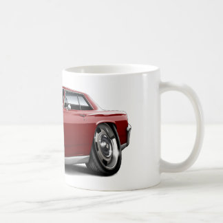 1964年のChevelleのあずき色車 コーヒーマグカップ