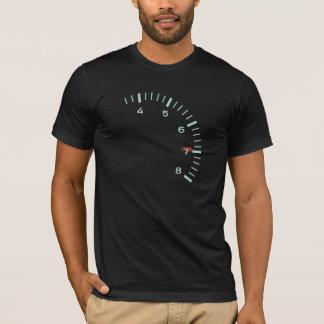 1964-67 911の911L回転速度計のデザインのTシャツ Tシャツ