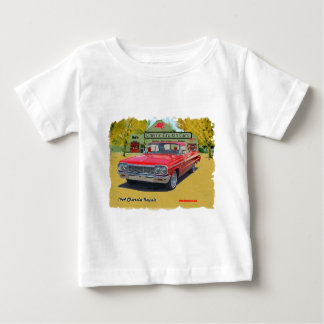 1964_Chevrolet_Impala ベビーTシャツ