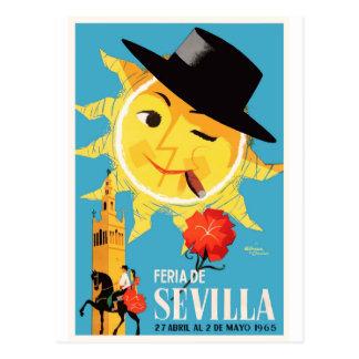 1965年のセヴィルスペイン4月の公平なポスター ポストカード