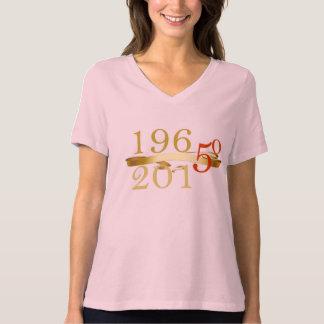 1965年- 2015記念する50 Tシャツ