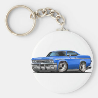 1965-66年のインパラの青車 キーホルダー