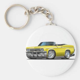 1965-66年のインパラの黄色いコンバーチブル キーホルダー