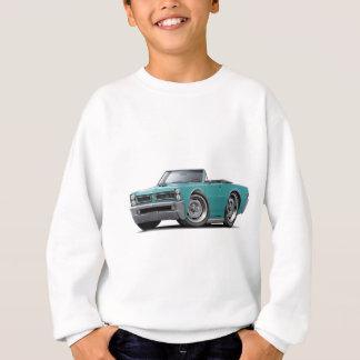 1965 GTOのターコイズのコンバーチブル スウェットシャツ