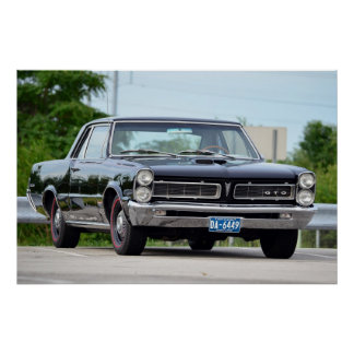 1965 GTO ポスター