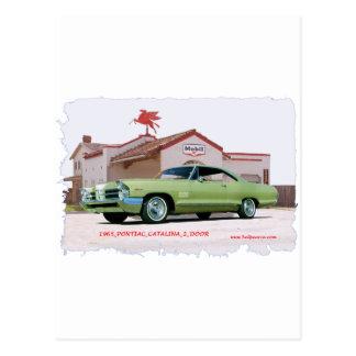 1965_PONTIAC_CATALINA_2DOOR ポストカード