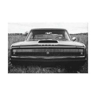 1966のごまかしの充電器 キャンバスプリント