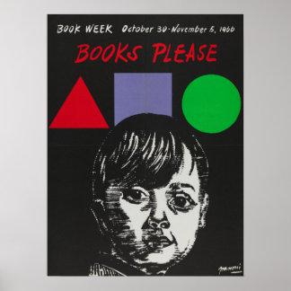 1966人の児童読書週間ポスター ポスター