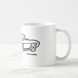 1966年のシボレー・コルベット コーヒーマグカップ