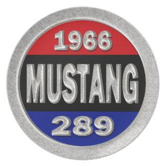 1966年のムスタング289 プレート