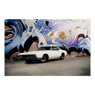 1966年のBuick Riviera GS ポスター