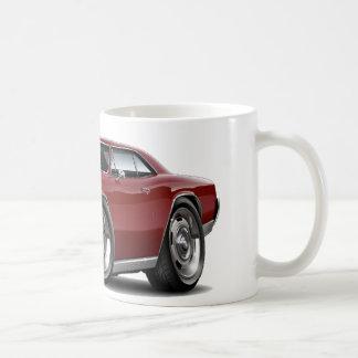 1966年のChevelleのあずき色車 コーヒーマグカップ