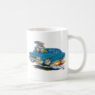 1966年のChevelleのティール(緑がかった色)車 コーヒーマグカップ