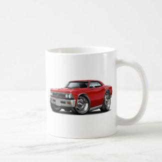 1966年のChevelleの赤車 コーヒーマグカップ