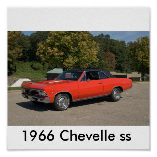 1966年のChevelle ss ポスター