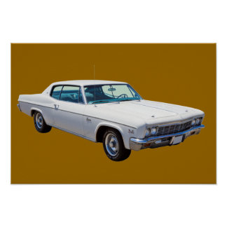 1966年のChevrolet Caprice 427筋肉車 ポスター