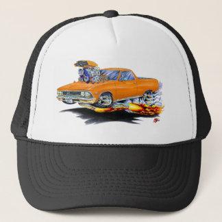 1966年のEl Caminoのオレンジのトラック キャップ