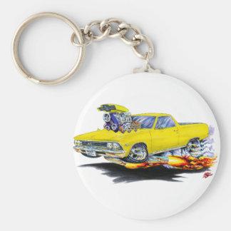 1966年のEl Caminoの黄色いトラック キーホルダー