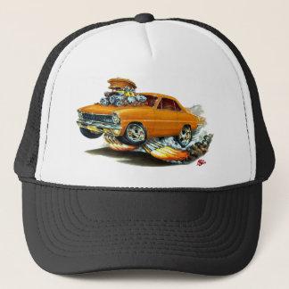 1966-67年の新星のオレンジ車 キャップ