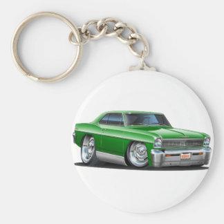 1966-67年の新星の緑車 キーホルダー