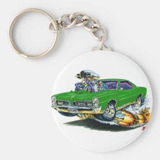 1966-67 GTOの緑車 キーホルダー