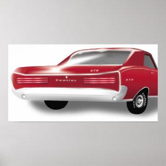 1966 GTOポスター ポスター