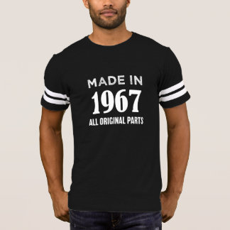 1967で作られてすべてのオリジナルは第50誕生日のティーを分けます Tシャツ