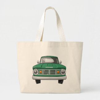 1967のごまかしのファーゴのトラック ラージトートバッグ