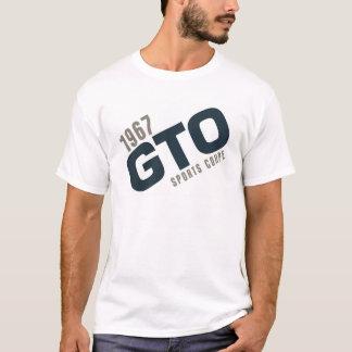 1967のGTOのスポーツのクーペ-船員のターコイズ Tシャツ