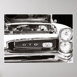 1967年のポンティアクGTO ポスター