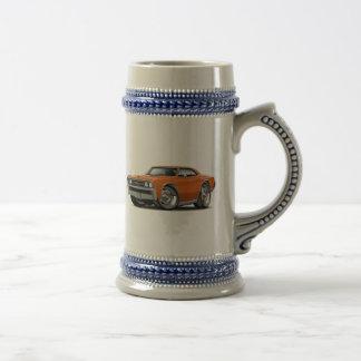 1967年のChevelleのオレンジ車 ビールジョッキ