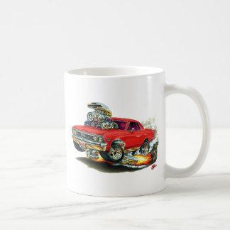 1967年のChevelleの赤車 コーヒーマグカップ