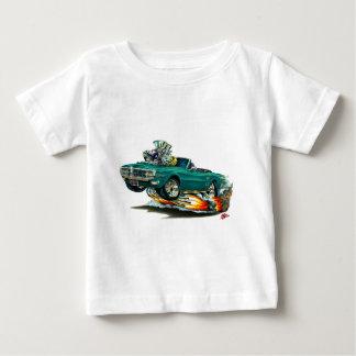 1967-68年のFirebirdのティール(緑がかった色)のコンバーチブル ベビーTシャツ