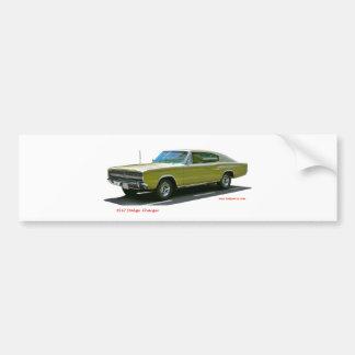 1967_Dodge_Charger バンパーステッカー