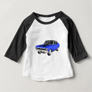 1968の青筋肉車 ベビーTシャツ