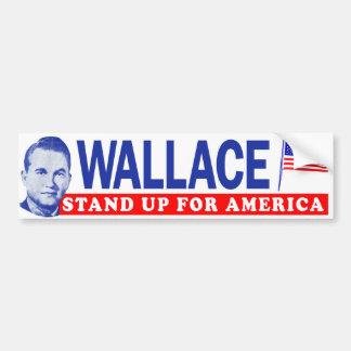 """1968年のジョージウォーレス""""アメリカ""""をバンパー擁護して下さい バンパーステッカー"""