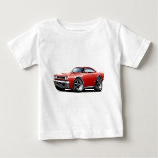 1968年のプリマスGTXの赤車 ベビーTシャツ