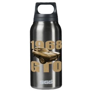 1968年のポンティアクGTO筋肉車の金ゴールド 断熱ウォーターボトル