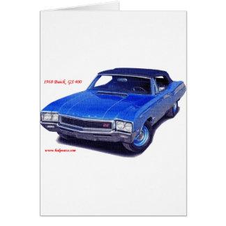 1968年のBuick GS 400 カード