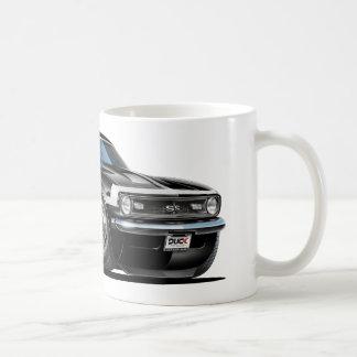 1968年のCamaroの白黒車 コーヒーマグカップ