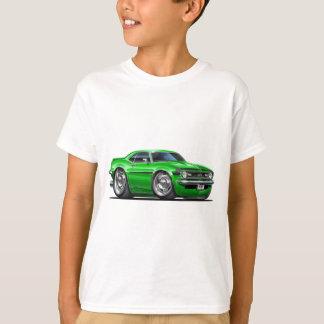 1968年のCamaroの緑黒い車 Tシャツ